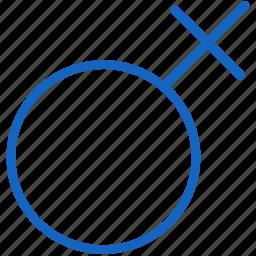 female, healthcare icon