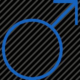 healthcare, male icon