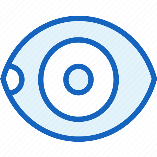 eye, healthcare icon