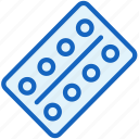 healthcare, pills icon