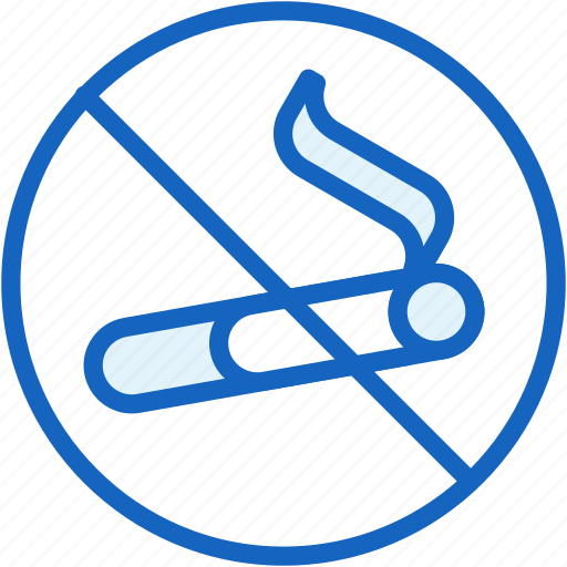 healthcare, no, smoking icon