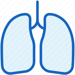 body, healthcare, human, lungs icon