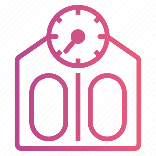 Fitness, scale, weight icon - Download on Iconfinder