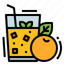 drinks, food, fruit, healthy, juice icon
