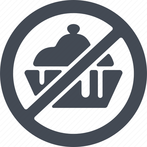 ban, healthy eating, prohibited products, prohibition icon
