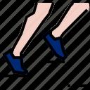 activity, running, sport icon