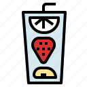 cherry, fruit, watermelon icon