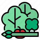 broccolie, healthy, vetgetable icon