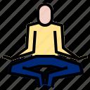 meditation, relaxation, yoga