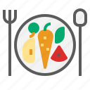 clean, diet, food, fruit icon
