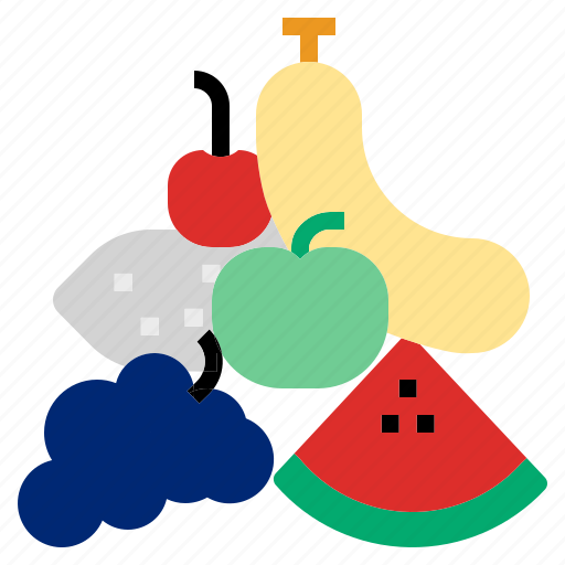 apple, fruit, orange icon