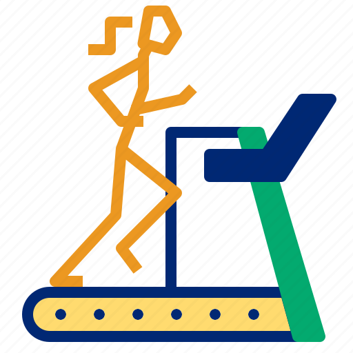 Running, track, treadmill icon - Download on Iconfinder