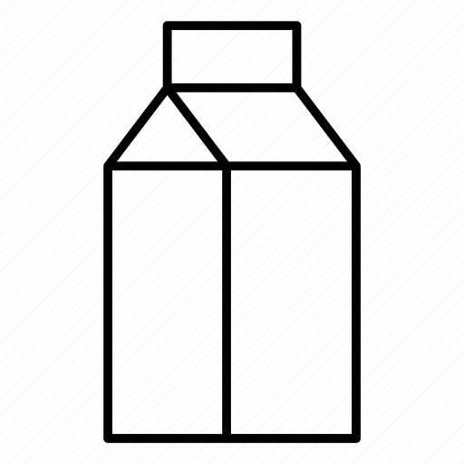 drinks, food, milk, nutrition icon