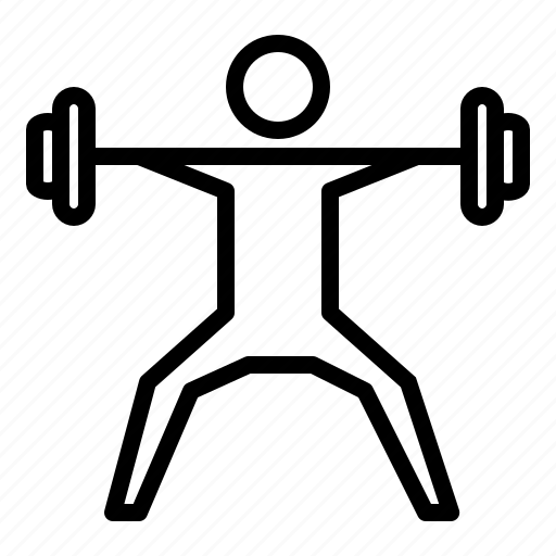 Barbell, dumbell, exercise, fitness, gym, squat, workout icon - Download on Iconfinder