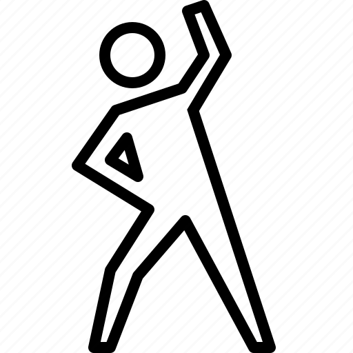 exercise, fitness, health, stretch, training, warmup, workout icon