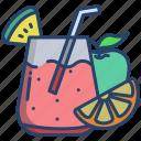 fruit, juice