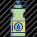 water, bottle