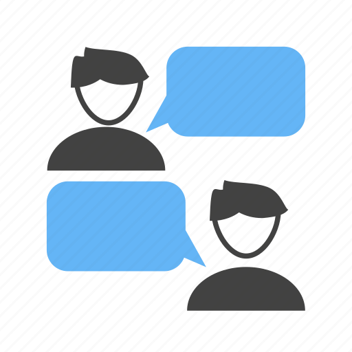 chatting, connection, conversation, messaging icon