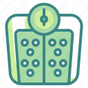 healthy, kg, miscellaneous, scale, tool, weight icon