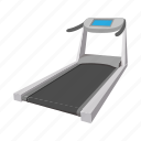 cartoon, equipment, fitness, gym, healthy, sport, training icon