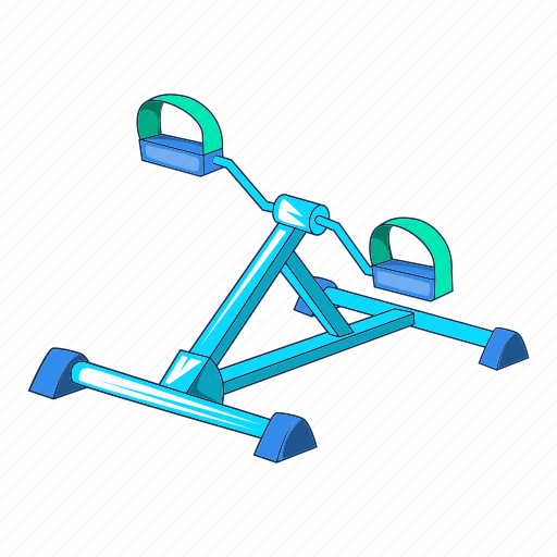 cartoon, fitness, foot, gym, gym equipment, sport, trainer icon