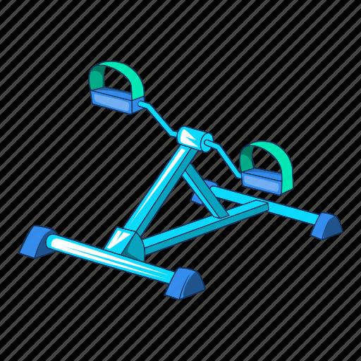 Cartoon, fitness, foot, gym, gym equipment, sport, trainer icon - Download on Iconfinder