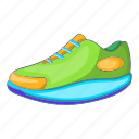 athletic, cartoon, footwear, shoe, sign, sneaker, sport
