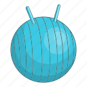 active, activity, aerobic, cartoon, child, children fitball, logo icon