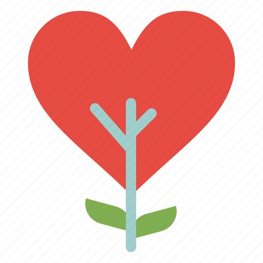 Heart, like, love, plant, tree icon - Download on Iconfinder