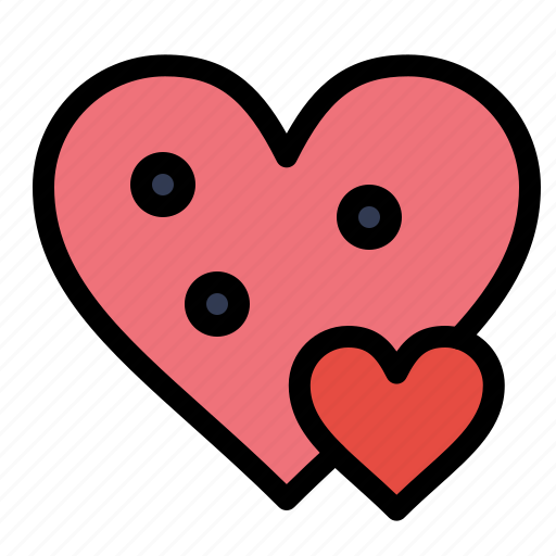 gift, heart, like, love, small icon