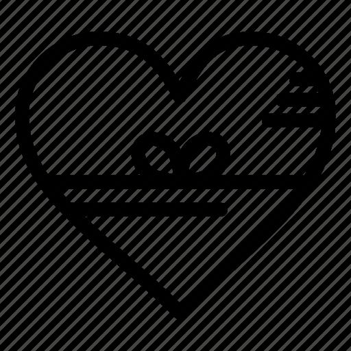 favorite, gift, heart, like, love icon