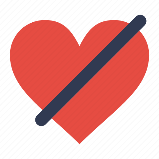 Access, denied, heart, like, love icon - Download on Iconfinder