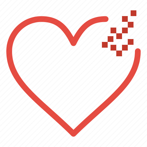 Broken, heart, love icon - Download on Iconfinder