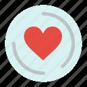 cd, heart, love
