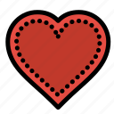 favorite, heart, like, love, report icon