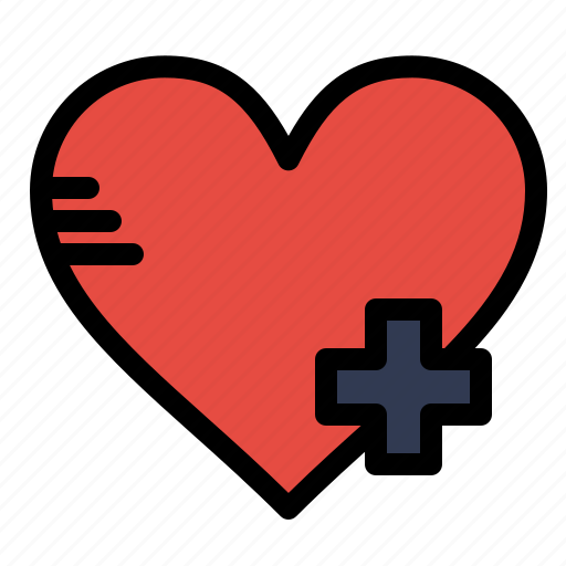 Add, favorite, heart icon - Download on Iconfinder