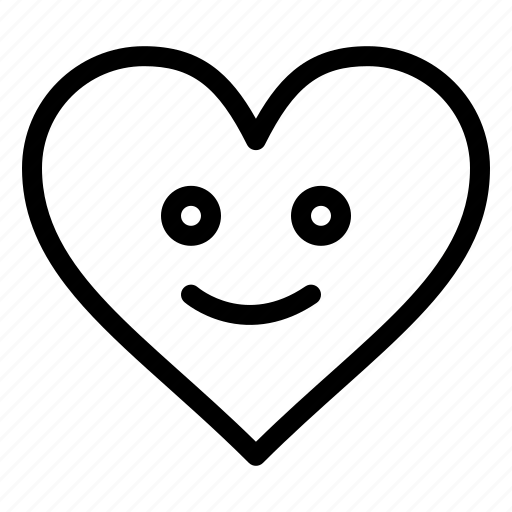Happy, heart, love icon - Download on Iconfinder