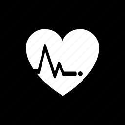 heart, lifeline, love, loveline icon