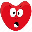 character, day, emotions, happy, heart, love, valentines icon