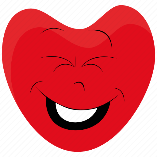 day, emotions, happy, heart, love, person, valentines icon