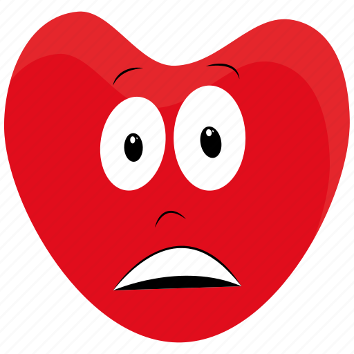 bad, cartoon, character, french, heart, person icon