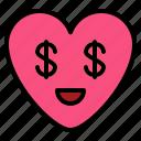 cool, emoji, greed, money
