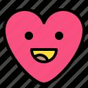 emoji, happy, laughing, smile