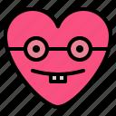 emoji, geek, nerd, sungrass