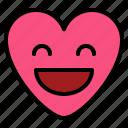 emoji, excited, surprise, wonderful icon