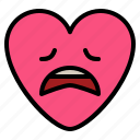 disapponted, emoji, sad, tired