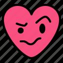 emoji, nervous, thinking, worried icon