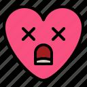 emoji, panic, shock, worried icon