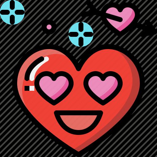Emoji, emotion, feeling, heart, love, romance icon - Download on Iconfinder