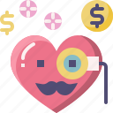 emoji, emotion, feeling, heart, love, rich, valentine